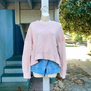 Blush Everlane Cozy Sweater NWOT